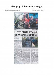Evesham Journal Oil Buying Club