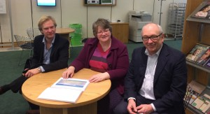 Gerry, Julian and Therese Coffey MP